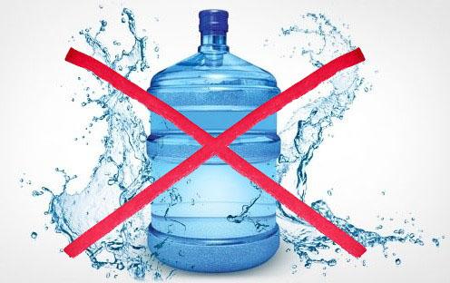 Бутилированная вода — это дорого