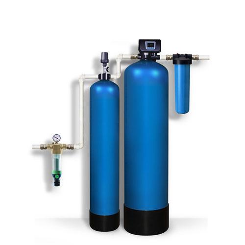 Система очистки воды для квартиры и дома. Станция обезжелезивания на основе аэрации